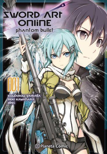 Sword Art Online Phantom Bullet 1 Manga