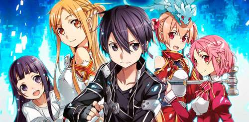 Sword Art Online anime ficha tecnica