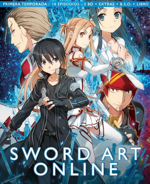 Sword Art Online Blu Ray Temporada 1 parte 1