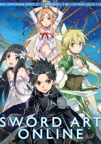 Sword Art Online Blu Ray Temporada 1 parte 2
