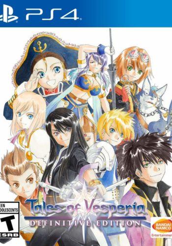 Tales of Vesperia Definitive Edition PS4 Portada