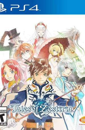 Tales of Zestiria PS4 Portada