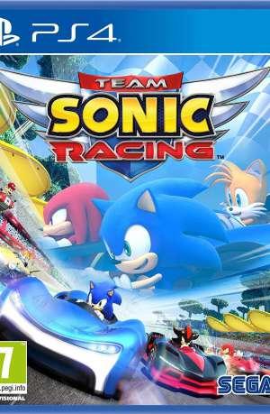 Team Sonic Racing PS4 Portada