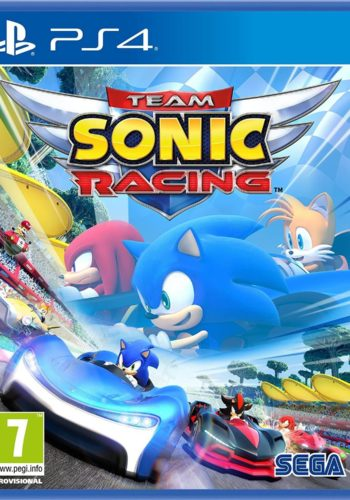 Team Sonic Racing PS4 Portada