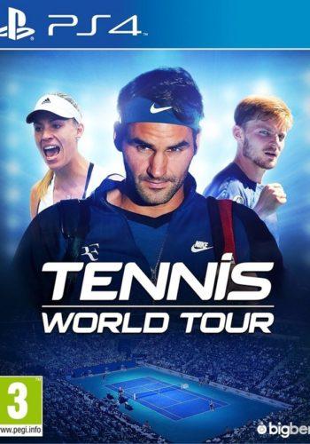 Tennis World Tour PS4 Portada