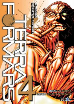 Terra Formars comic tomo 04