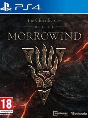 The Elder Scrolls Online Morrowind PS4 Portada
