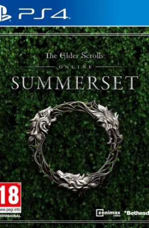 The Elder Scrolls Online Summerset PS4 Portada