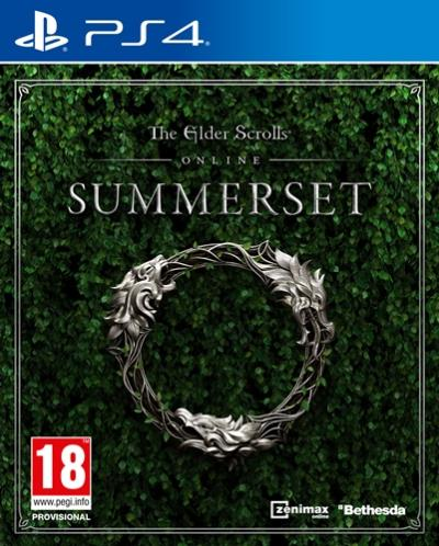 The Elder Scrolls Online Summerset PS4 Portada