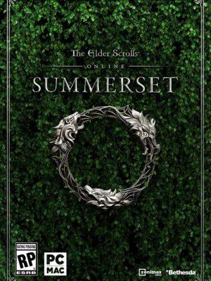 The Elder Scrolls Online Summerset Standard Edition PC Portada