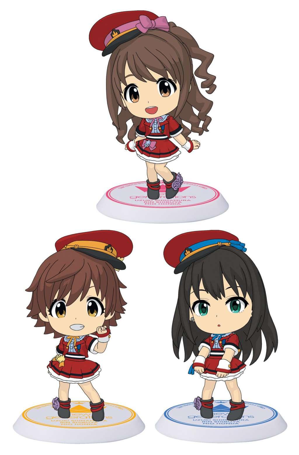 The Idolmaster Cinderella Girls Figuras ChiBi Surtido Evo Revo Generation 02