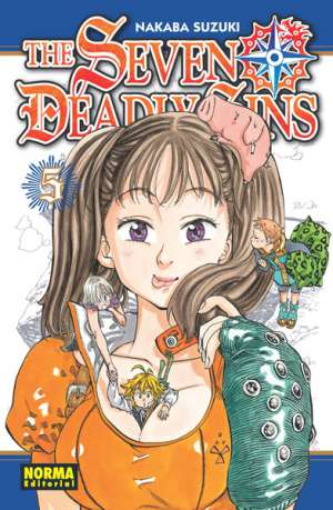 The Seven Deadly Sins manga tomo 5
