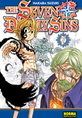 The Seven Deadly Sins manga tomo 7
