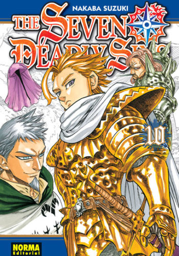 The Seven Deadly Sins manga tomo 10