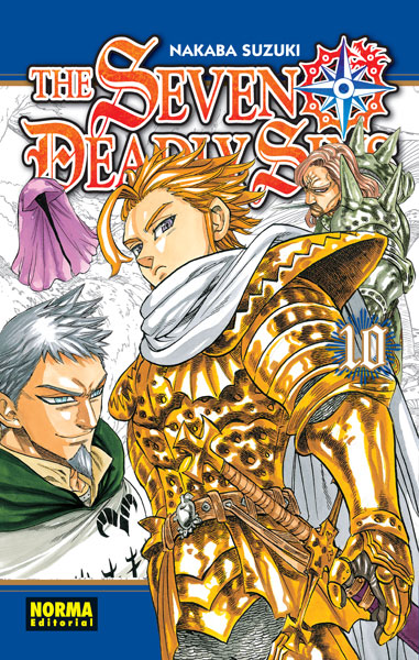 The Seven Deadly Sins manga tomo 10