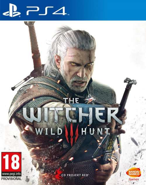 The Witcher III Wild Hunt PS4 Portada