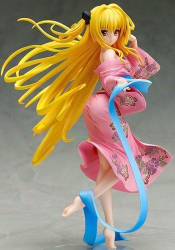 To Love-Ru Darkness Figura Golden Darkness Yukata Ver 01