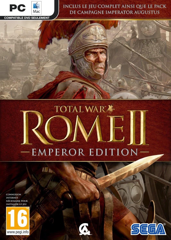 Total War Rome 2 Emperor Edition PC Portada