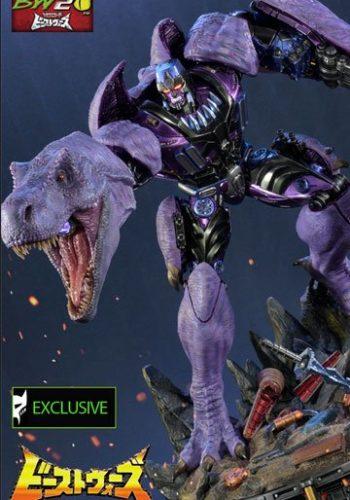 Transformers Beast Wars 3 Figuras Megatron y Megatron Exclusive 68 cm 01