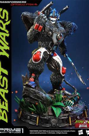 Transformers Beast Wars Figura Optimus Primal 63 cm 01