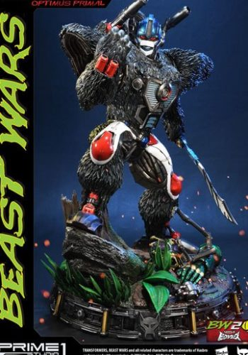 Transformers Beast Wars Figura Optimus Primal 63 cm 01