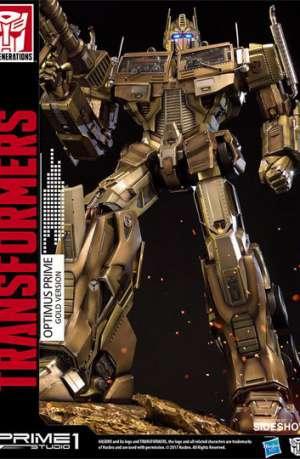 Transformers Generation 1 Figura Optimus Prime Gold Version 61 cm 01