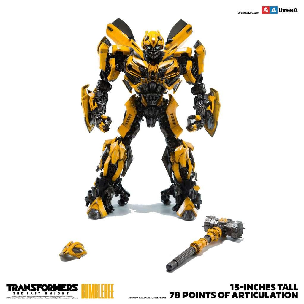 Transformers The Last Knight Figura 16 Bumblebee 38 cm 02