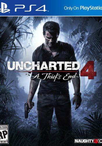 Uncharted 4 PS4 Portada