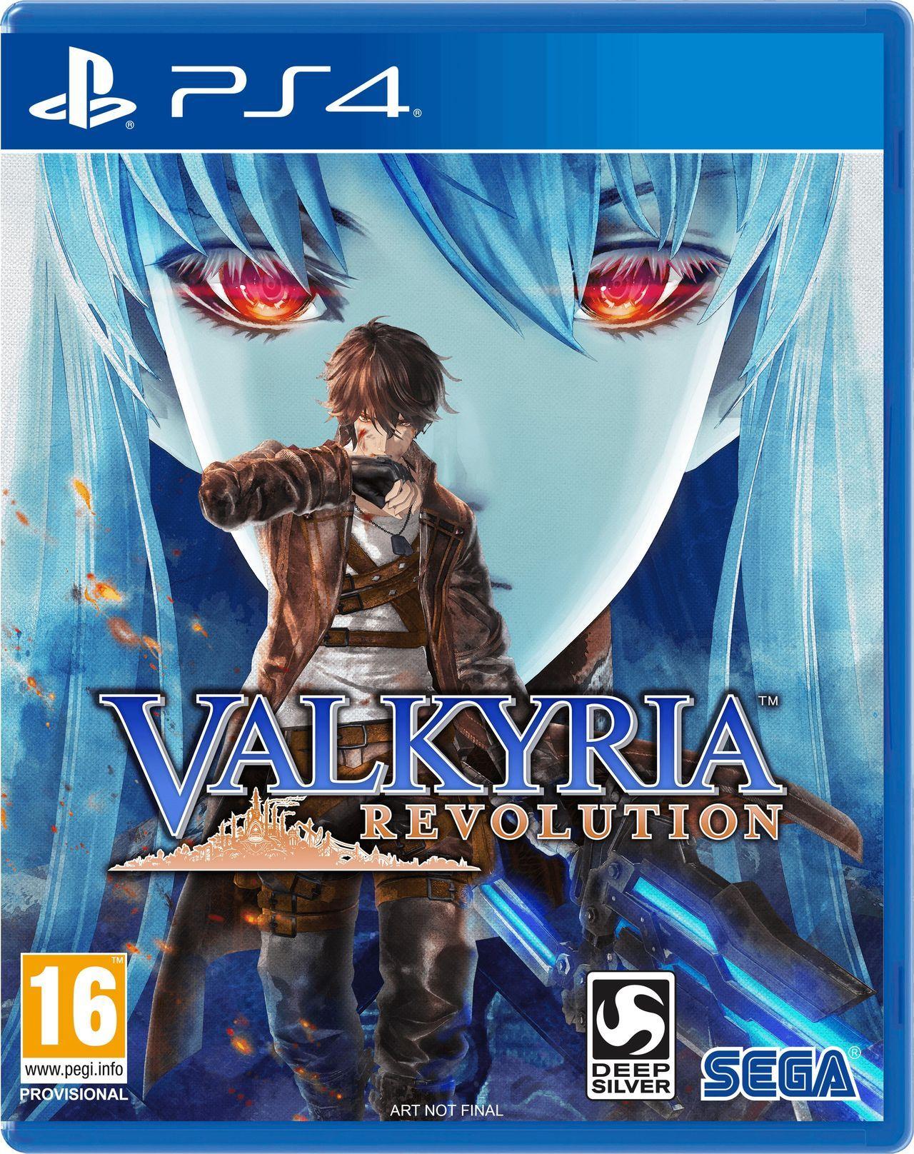 Valkyria Revolution PS4 Portada