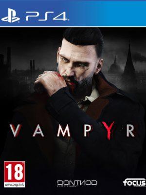 Vampyr PS4 Portada