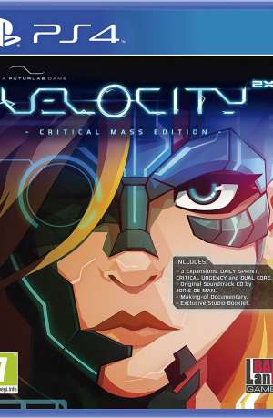Velocity 2X Critical Mass Edition PS4 Portada