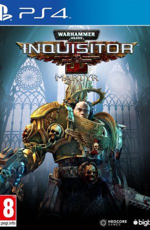 Warhammer 40000 Inquisitor Martyr PS4 Portada
