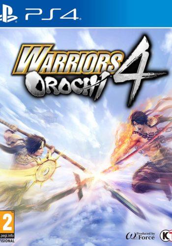 Warriors Orochi 4 PS4 Portada