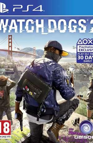 Watch Dogs 2 PS4 Portada