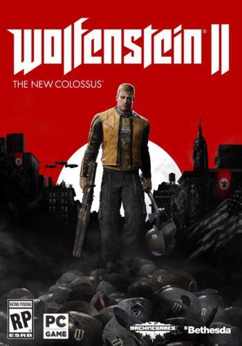Wolfenstein 2 the new colossus PC Portada
