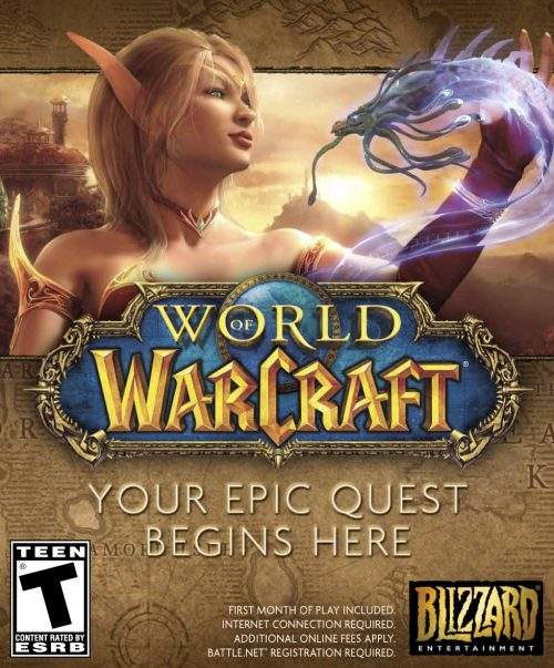 World of Warcraft 5.0 PC Portada