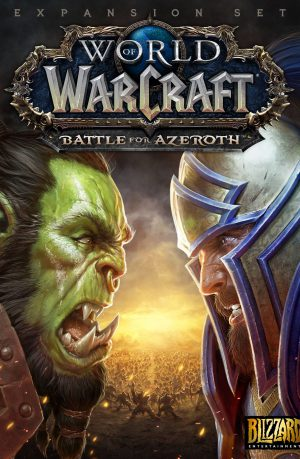 World of Warcraft Battle for Azeroth PC Portada