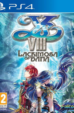 YS VIII Lacrimosa of Dana PS4 Portada