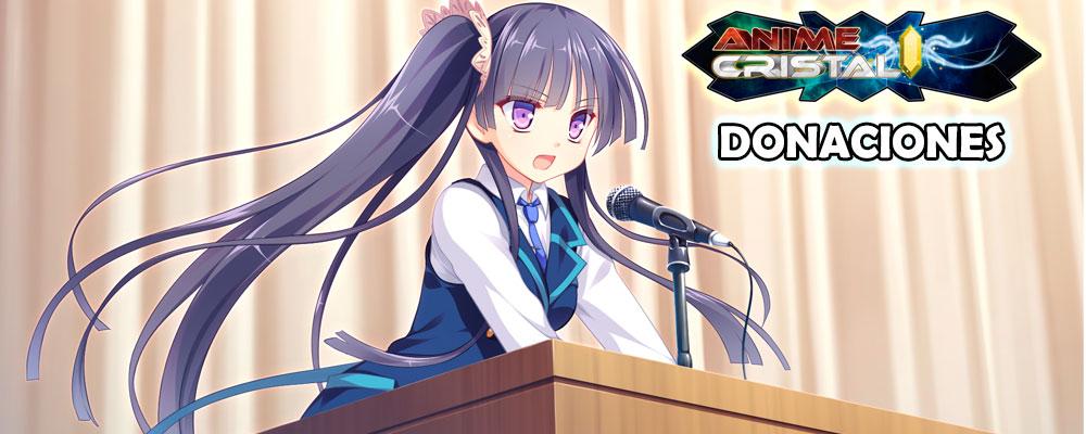 Donaciones Anime Cristal
