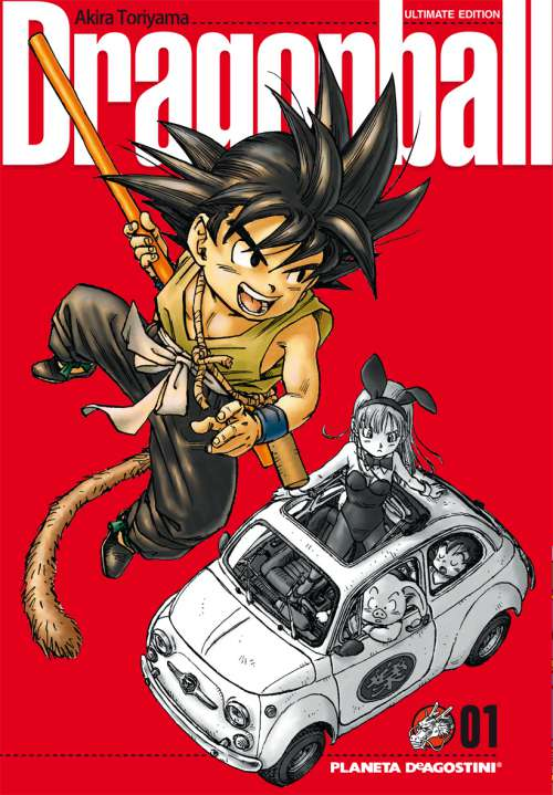 Dragon Ball manga Tomo 1