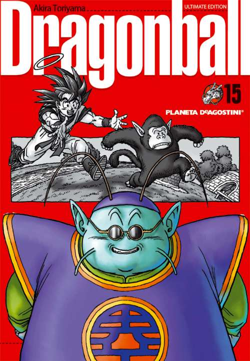 Dragon Ball manga Tomo 15