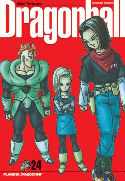 Dragon Ball manga Tomo 24
