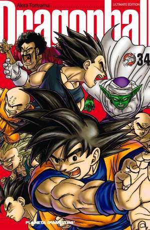 Dragon Ball manga Tomo 34