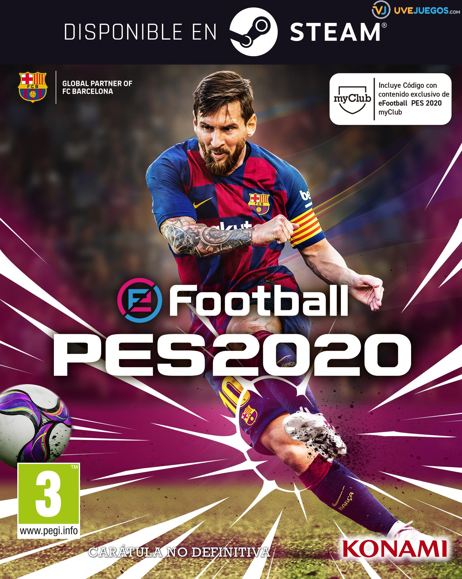 eFootball PES 2020 PC Descargar