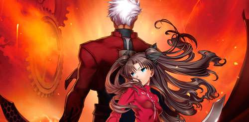 Fate/stay night the Movie: Unlimited Blade Works Portada
