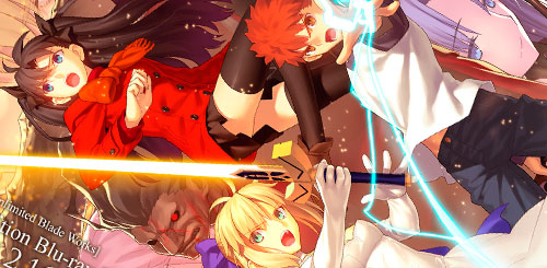 Fate/Unlimited Blade Works Portada