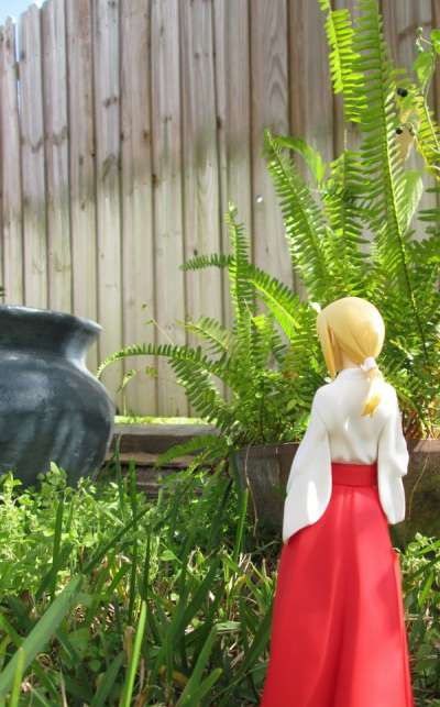 Fate/Hollow Ataraxia Saber Miko Clothing 02