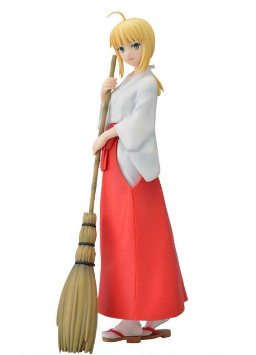 Fate/Hollow Ataraxia Saber Miko Clothing