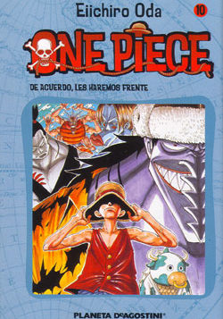 Manga One Piece Tomo 10