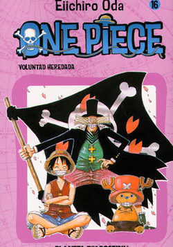 Manga One Piece Tomo 16
